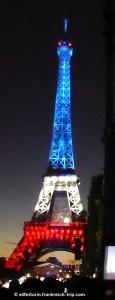 Eiffelurm Feuerwerk Nationalfeiertag