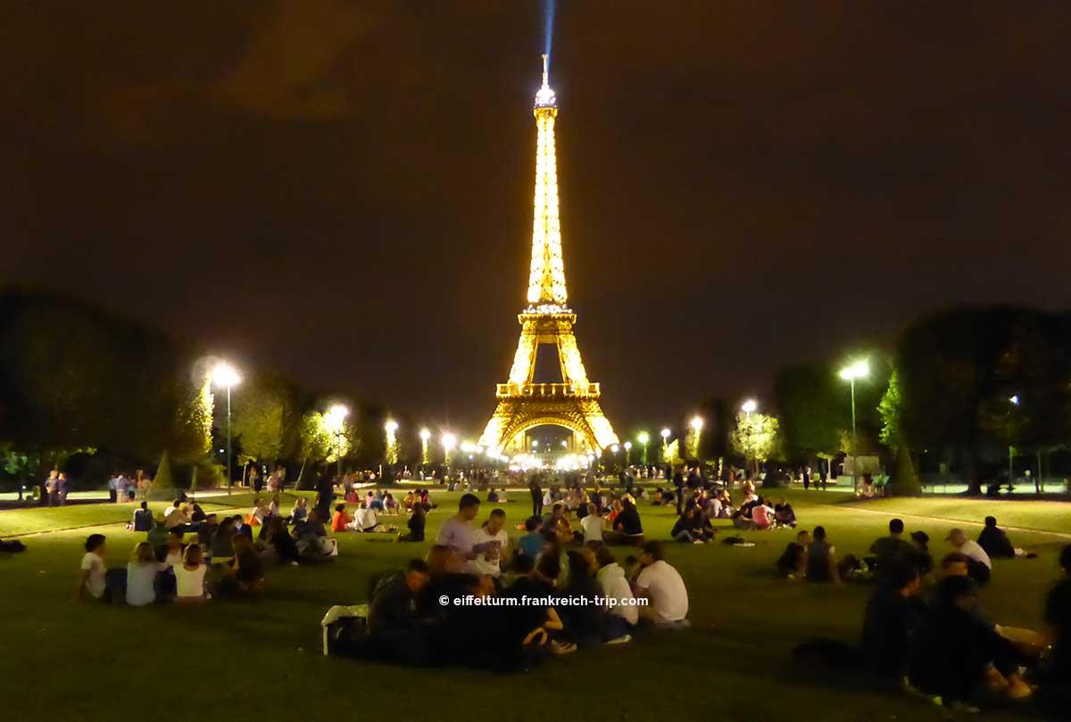 Eiffelturm kostenlos am 1. Oktober