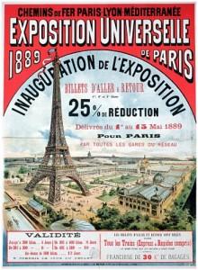 Plakat Weltausstellung Paris 1889