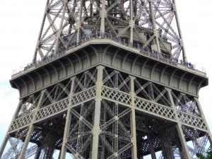 Eiffelturm zweite Etage