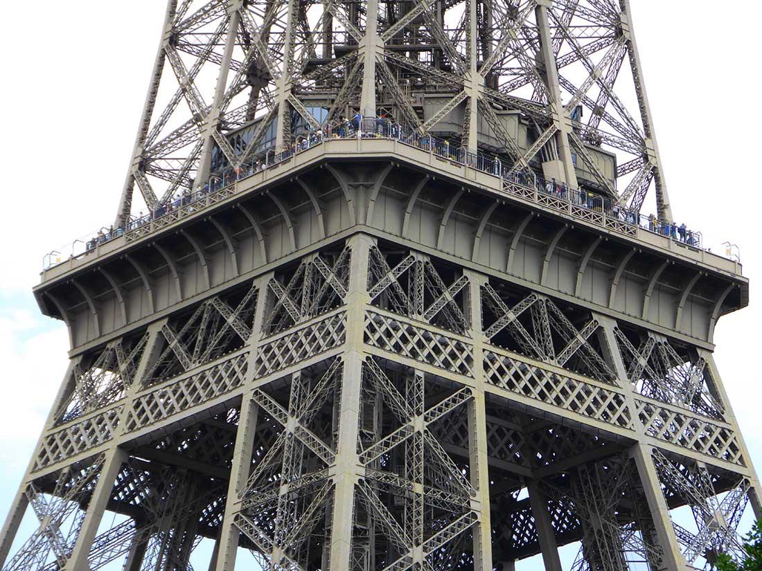 2. Etage des Eiffelturms
