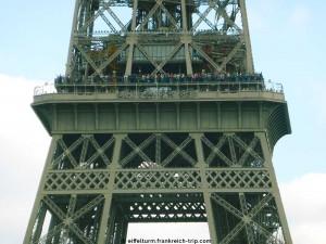 Eiffelturm 2. Etage