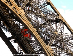 Eiffelturm Aufzug & Treppe Südpfeiler