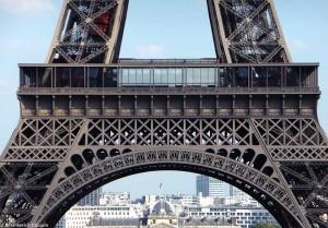Eiffelturm Erste Etage