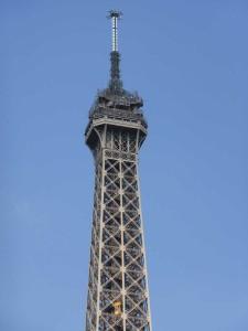 Eiffelturm Spitze