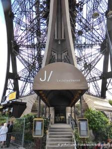 Eingang Jules Verne Eiffelturm