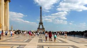 Esplanade de Trocadéro Eiffelturm