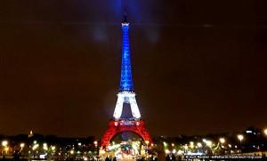 Eiffelturm bleu-blanc-rouge