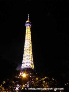 Eiffelturm am 1 Oktober kostenlos