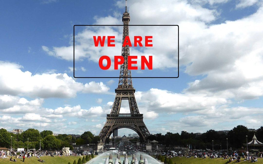 Der Eiffelturm öffnet wieder!