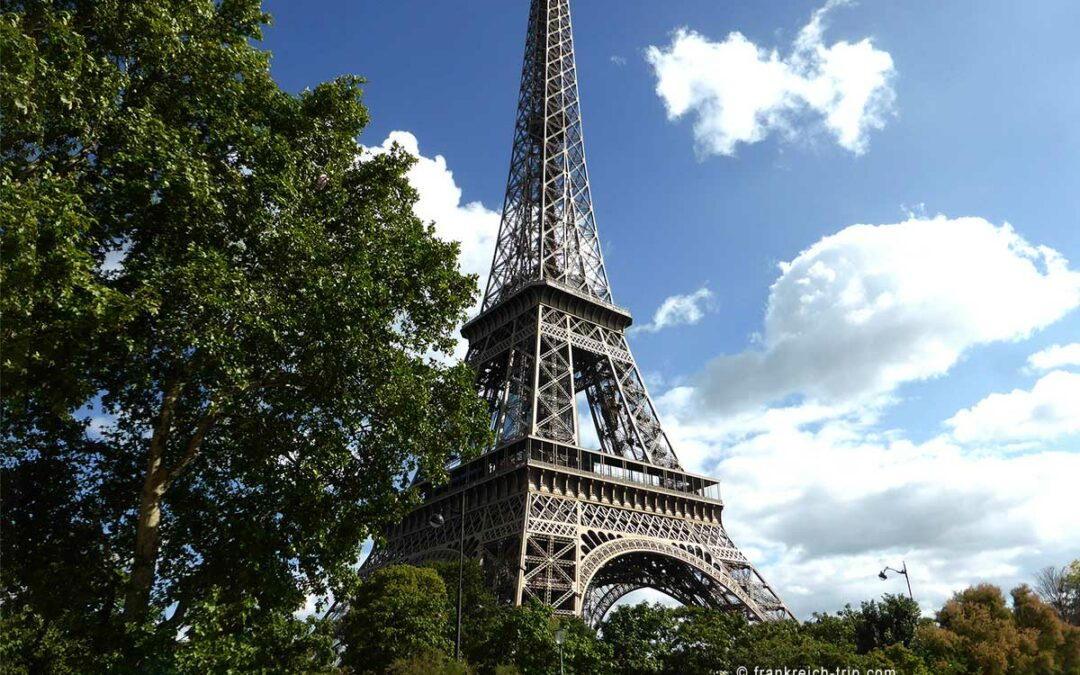 Wiedereröffnung des Eiffelturms am 16. Juli 2021