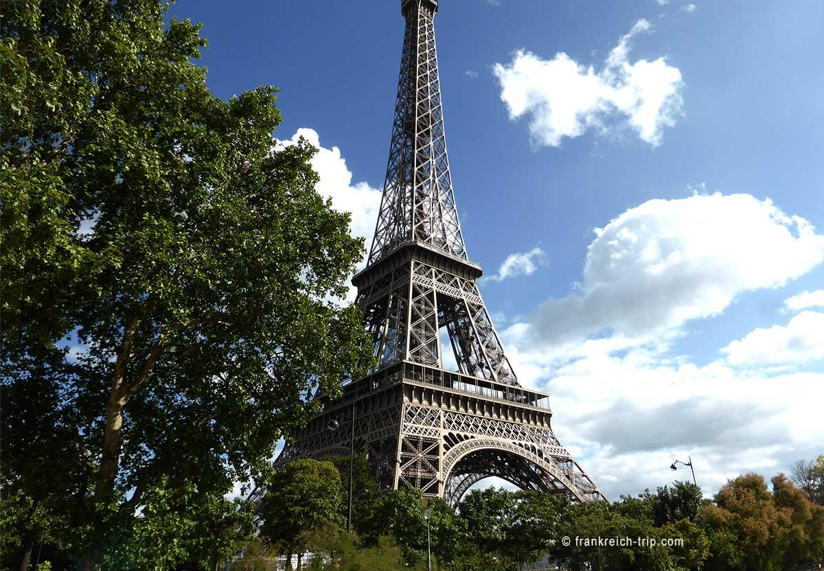 Eiffelturm Wiedereröffnung 2021